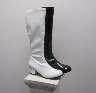 GGoGo Boots Black and White