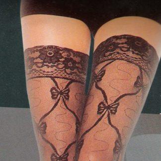 Lace Stocking Black