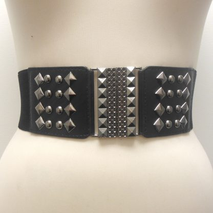Studded Stretch Belt