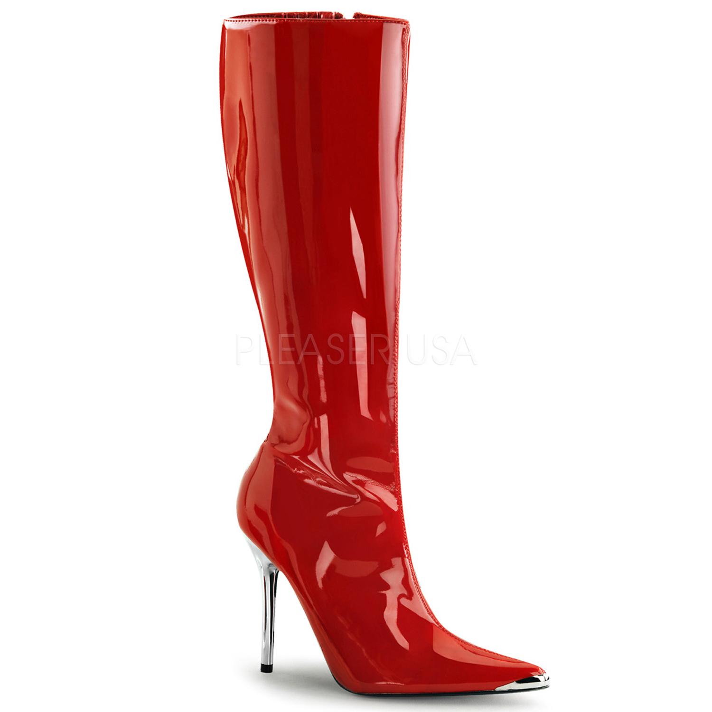 e0861a3760a White HEAT Knee Boot – 5 inch heel