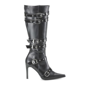 Spicy Black Knee Boot