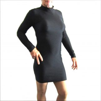 Skin Tight Dress Black