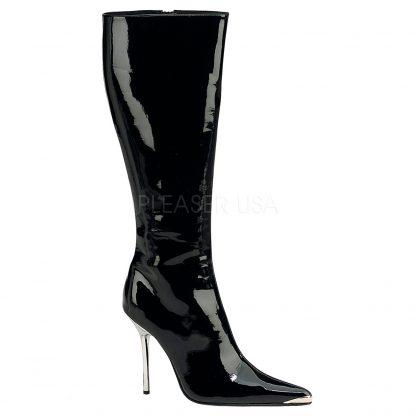 Heat Knee Boot Black Narrow calf - 17 inches