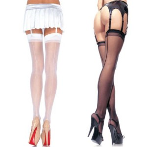 Backseam stocking Black