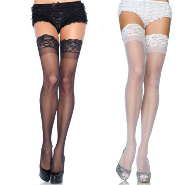 Lace Top Stay Up Stockings