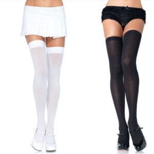 Thigh High Opaque Stayups