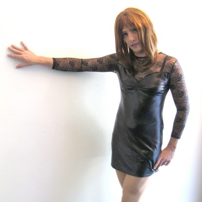 Lame and Lace Dress
