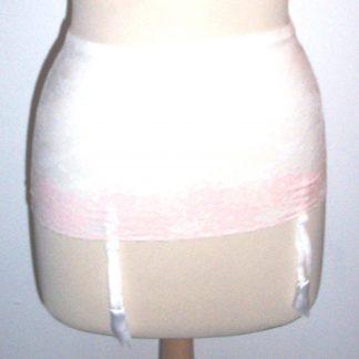 Vintage White Garter Belt
