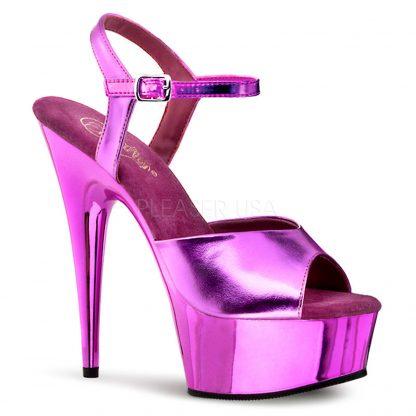 Metallic Hot Pink Sandal
