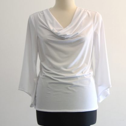 White Stretchy Top