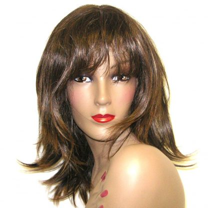 Tonya - Casual shoulder length brown hair