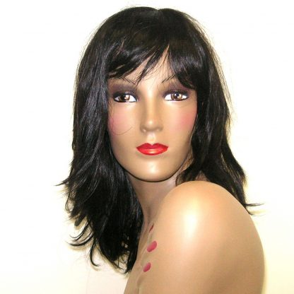 Tonya - Black synthetic wig