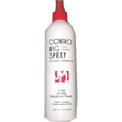 Control wig spray will improve your wig.