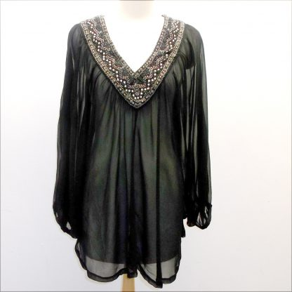 Plus Chiffon Top