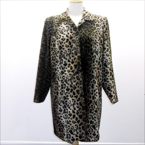 Leopard Coat 1X