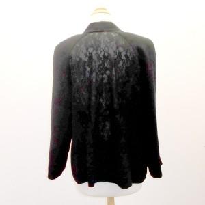 Dressy Jacket with Black Lace Back