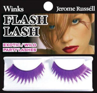 Wild party lashes violet flash