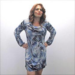 Silky Wavy Dress