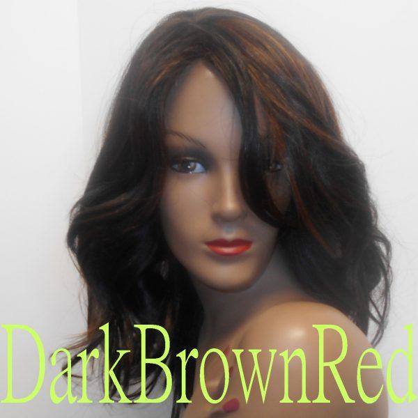 Clara Dark Brown Red
