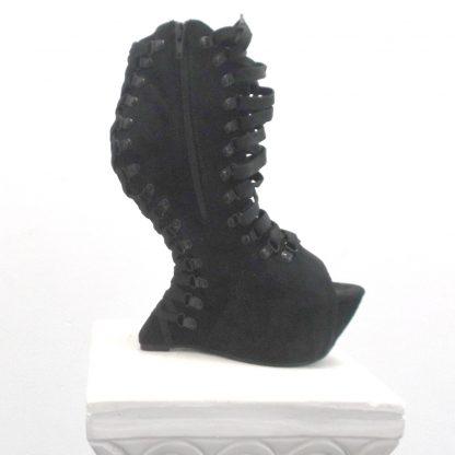 Ga Ga Black Ankle Boots