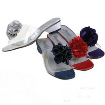 Slip On Sandal with Flower