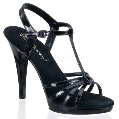 Wide Width Sandal Flair Black