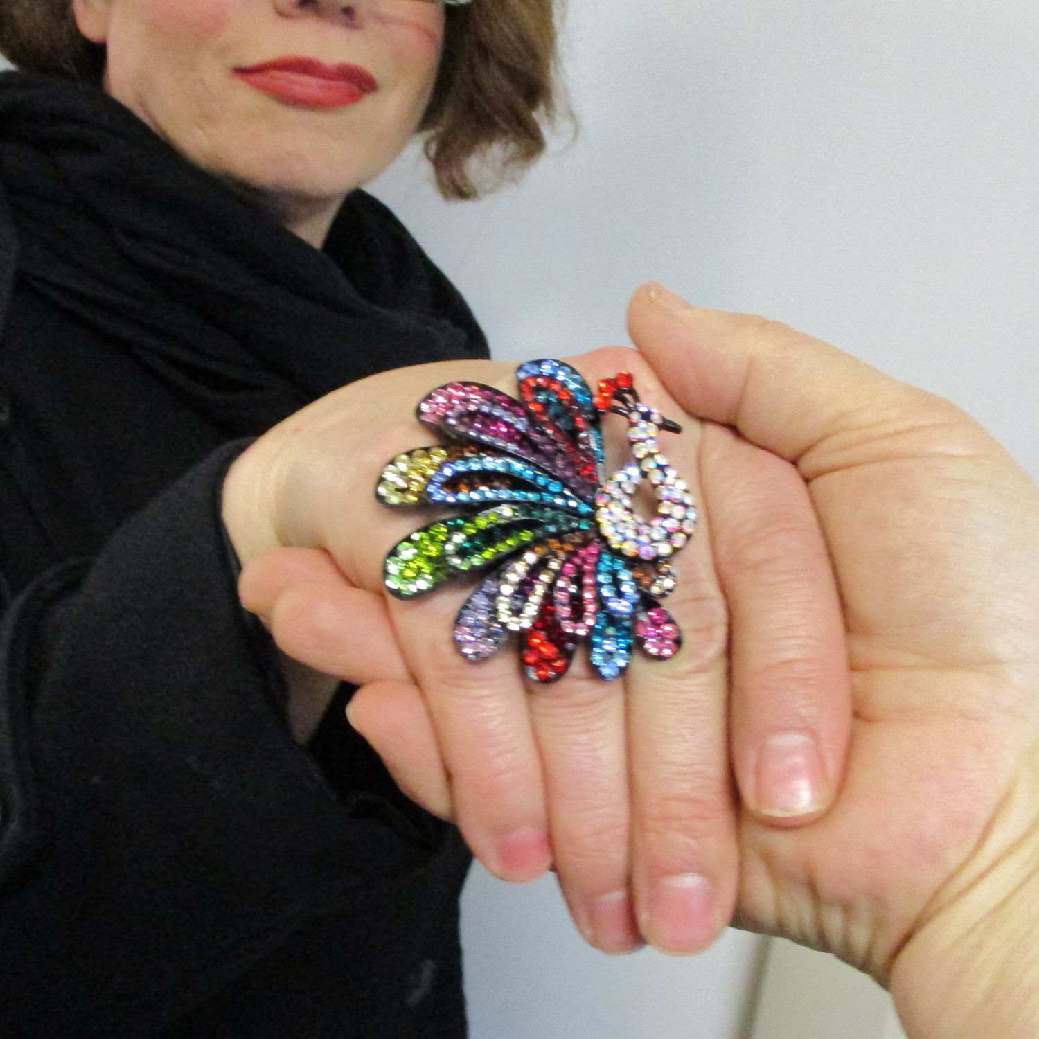 Peacock Ring Welcome