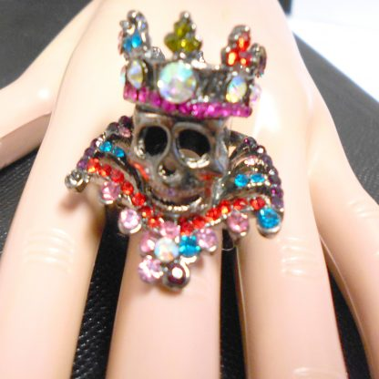One of a kind Day of the Dead Ring