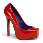 Red Bondo Heels